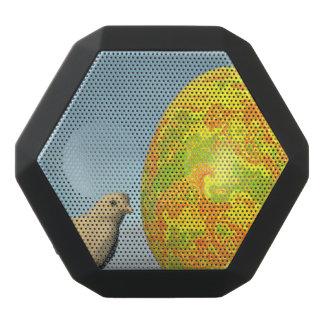 Caixa De Som Preta Com Bluetooth Ovo da páscoa e pintinhos - 3D rendem