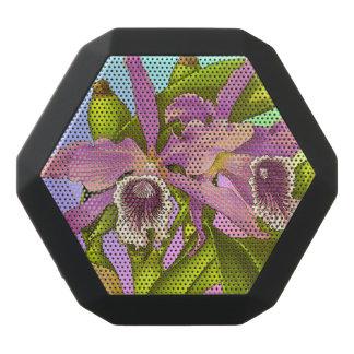 Caixa De Som Preta Com Bluetooth Pop da orquídea