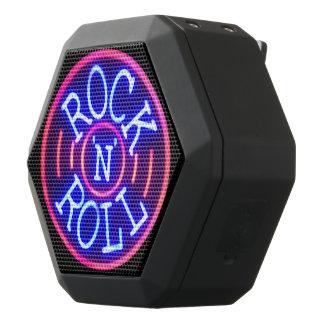 Caixa De Som Preta Com Bluetooth Rock and roll