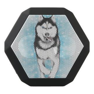 Caixa De Som Preta Com Bluetooth Rouco Siberian