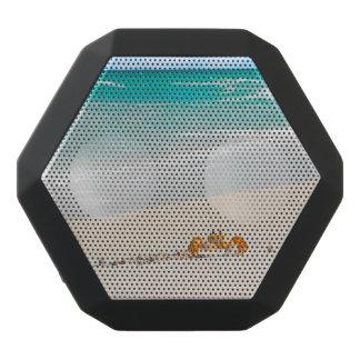 Caixa De Som Preta Com Bluetooth Sandy Beach e caranguejo bonitos