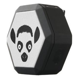Caixa De Som Preta Com Bluetooth Silhueta da cara do Lemur