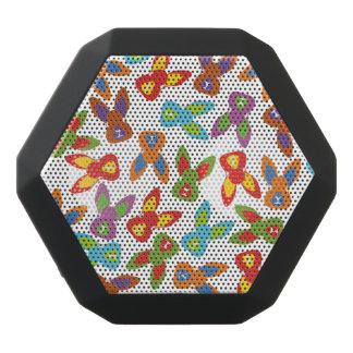 Caixa De Som Preta Com Bluetooth Teste padrão psicótico da páscoa colorido