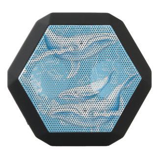 Caixa De Som Preta Com Bluetooth Vintage da família das baleias azuis