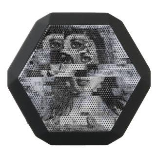 Caixa De Som Preta Com Bluetooth Visão com o caos