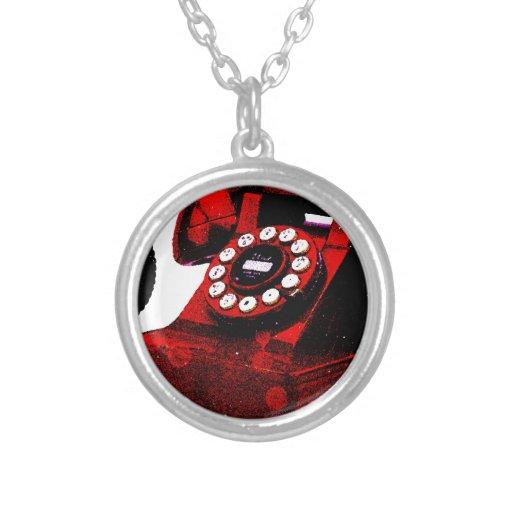 Caixa de telefone velha da mesa do pop art bijuteria personalizada