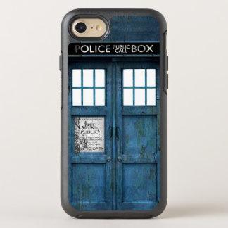Caixa de telefonema engraçada retro da polícia capa para iPhone 7 OtterBox symmetry