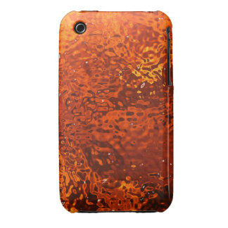 Caixa de vidro alaranjada do blackberry curve do capinhas iPhone