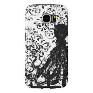 Caixa decorativa afligida da galáxia de Samsung do Capas Samsung Galaxy S6