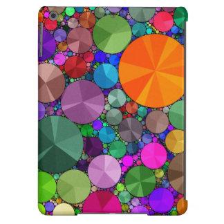 Caixa do ar de Bling Ipad do arco-íris mal lá Capa Para iPad Air