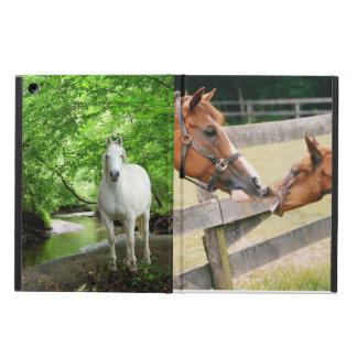 Caixa do ar do iPad dos cavalos
