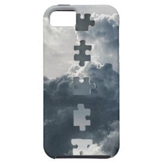Caixa do céu capa tough para iPhone 5