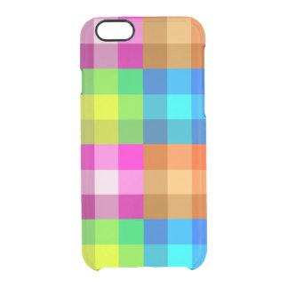 Caixa do defletor do iPhone 6s da xadrez do Capa Para iPhone 6/6S Transparente