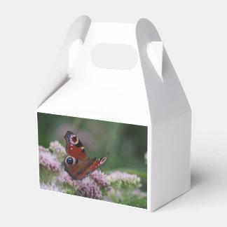 Caixa do favor da borboleta de pavão