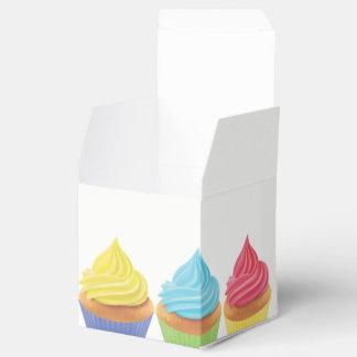 Caixa do favor de partido do cupcake