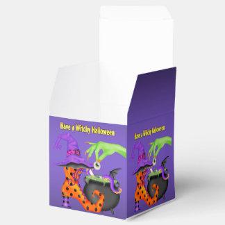 Caixa do favor de Witchy o Dia das Bruxas Caixinhas De Lembrancinhas Para Casamentos