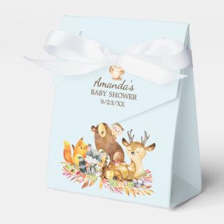 Caixa do favor do chá de fraldas dos animais da
