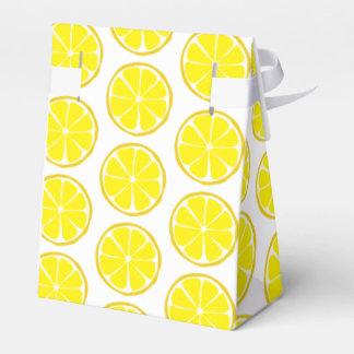 Caixa do favor do limão do citrino do verão