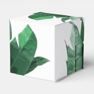 Caixa do favor do quadrado do impressão da folha