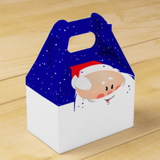 Caixa do frontão do papai noel do Natal