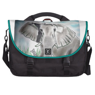 Caixa do laptop com design do elefante bolsa para computador portátil