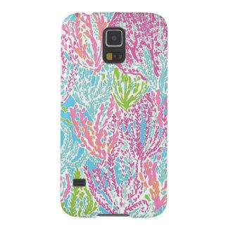 Caixa do recife de corais da Multi-Cor Capas Par Galaxy S5
