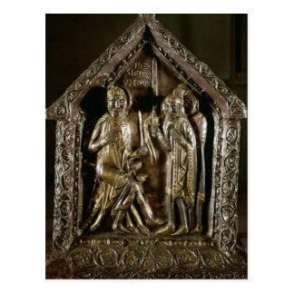 Caixa do relicário dos filhos de St. Sigismund Cartão Postal