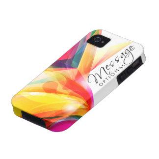 Caixa do speck da arte abstracta 7 capinhas para iPhone 4/4S