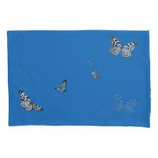 Caixa do travesseiro da borboleta