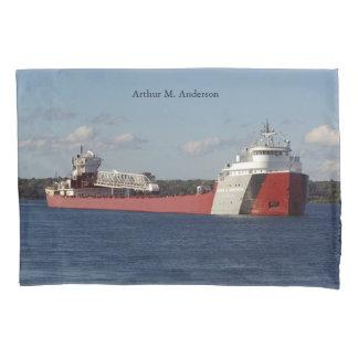 Caixa do travesseiro de Arthur M. Anderson