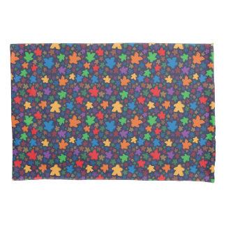 Caixa do travesseiro do impressão de Meeple