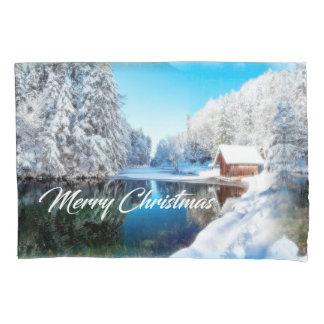 Caixa do travesseiro do Natal
