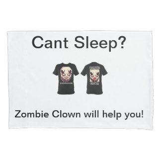 Caixa do travesseiro do palhaço do zombi