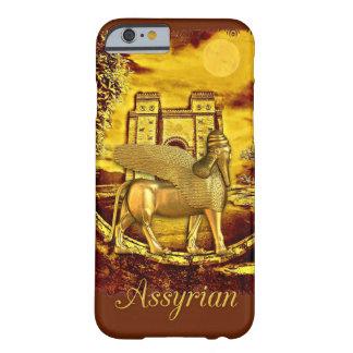 Caixa dourada Assyrian da porta iphone6 de Lamassu Capa Barely There Para iPhone 6