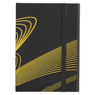 Caixa Elegante-BK do ar do iPad do ouro sem