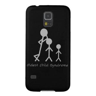 Caixa engraçada da galáxia de Samsung da síndrome Capinha Galaxy S5