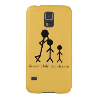 Caixa engraçada da galáxia de Samsung da síndrome Capinhas Galaxy S5