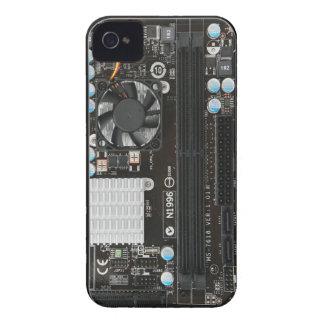 Caixa engraçada do cartão-matriz capinhas iPhone 4