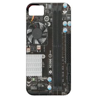 Caixa engraçada do cartão-matriz capas para iPhone 5