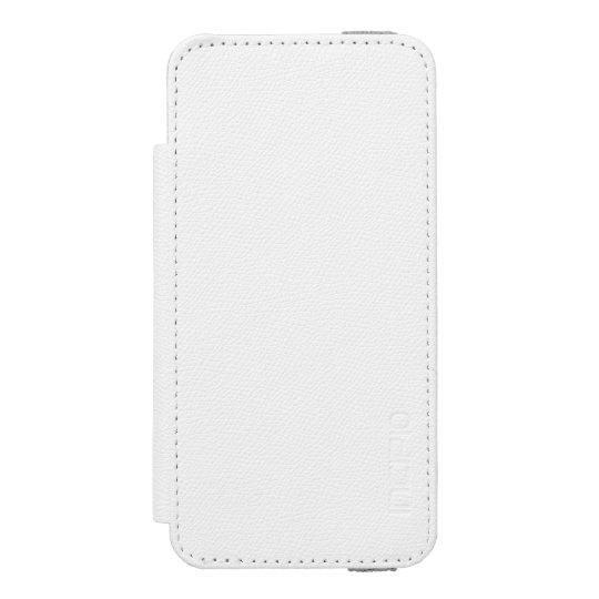 Branco Incipio Watson™ iPhone 5/5s Wallet Case, Em branco Inner Case