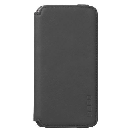 Preto Incipio Watson™ iPhone 6 Wallet Case, Em branco Inner Case