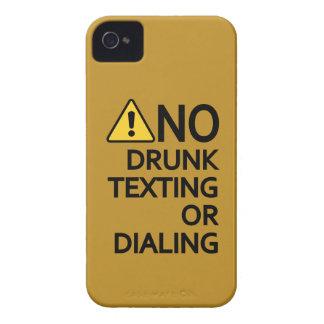 Caixa feita sob encomenda engraçada de Blackberry Capas Para iPhone 4 Case-Mate
