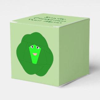 Caixa feita sob encomenda Smelly do favor da couve