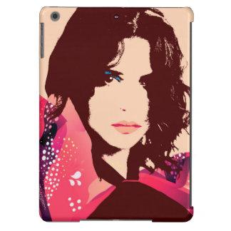 Caixa floral à moda do ar de Ipad da menina Capa Para iPad Air