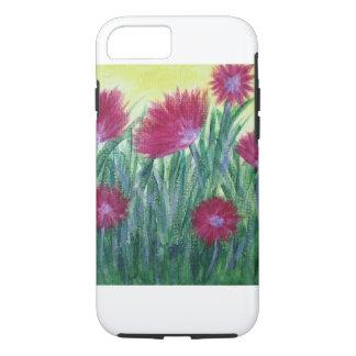 caixa floral das capas de iphone