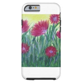 caixa floral das capas de iphone capa tough para iPhone 6