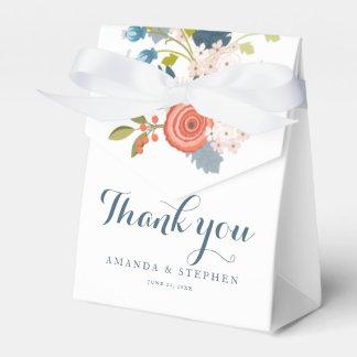 Caixa floral do favor do casamento do jardim caixinha de lembrancinhas para festas