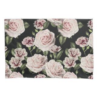 Caixa floral do travesseiro dos rosas
