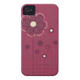 Caixa floral na moda de Blackberry da decoração Capinha iPhone 4