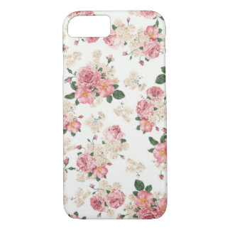 Caixa floral Pastel do iPhone 7 Capa iPhone 8/ 7
